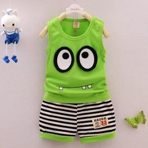 Other - Lime Monster Outfit